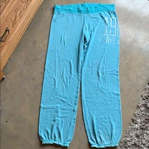 Teal Pajama Pants from Victoria's Secret PINK